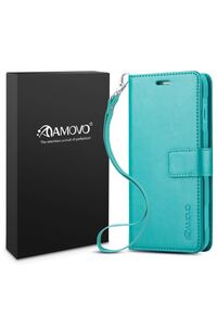 AMOVO iPhone X Case [2 in 1], iPhone X Wallet Case