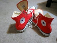 red-and-white Converse All Star high tops High Point, 27263