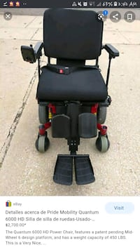 QUANTUM 6000 POWER CHAIR Dartmouth, B3A 2K6