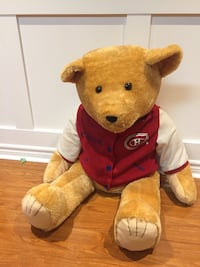 Plush bear with Montreal Canadian shirt