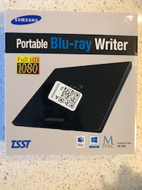 New Samsung Blu-ray Writer  Mississauga, L5N 3K6