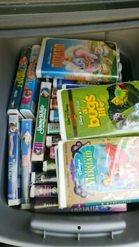 assorted Disney's VHS MOVIES..MOST ALL ARE LIKE NE