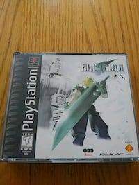 SONY PLAYSTATION FINAL FANTASY VII VIDEO GAME