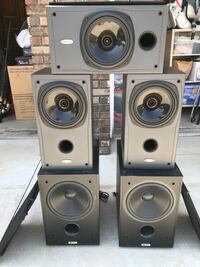 Tannoy Speakers(3) and Subwoofers(2) Diamond Bar, 91765