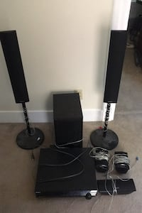 Sony 5 piece surround sound for music and movies MUST GO $125 OBO