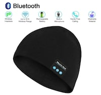 Brand Seal New In Bag Bluetooth Beanie Hat Unisex Wireless Bluetooth Music Knit Cap with Built-in Stereo Speakers & Microphone for Winter Outdoor Sports(Black) Hayward, 94544