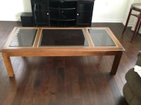 3 Wood and glass tables, great condition  Bradford West Gwillimbury, L3Z 0B9