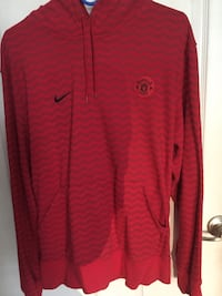 (Men's L) Manchester United Hoodie Soccer  Germantown, 20874