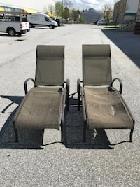 two black metal framed armchairs West Chester, 19380