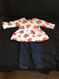 white and red floral long-sleeved shirt Loma Linda, 92354