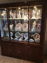 China Cabinet and matching side board