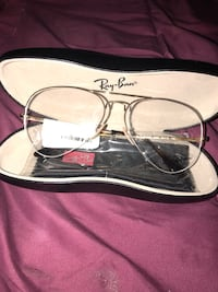 Gold framed RayBan  eyeglasses with case Reisterstown, 21136