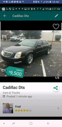 Cadillac - DTS - 2010 Louisville
