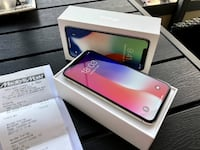 Apple iPhone X 256GB -Silver- Sweden