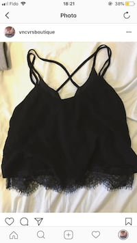 Brand new Lace trim forever 21 tank  Surrey, V3W 1A6