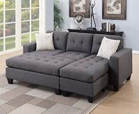 NEW SECTIONAL WITH OTTOMAN  Downey