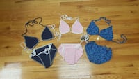 Set of 3 NEW crochet bikinis. Size small Harpers Ferry, 25425