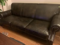 "86"" Leather Sofa - MUST SELL NOW! Arlington, 22206"