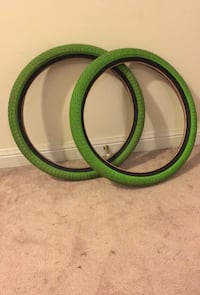 Lime green Haro BMX tires Barrie, L4M 0C9