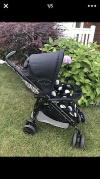 Baby's black and gray lightweight stroller screenshot Sioux Falls, 57103