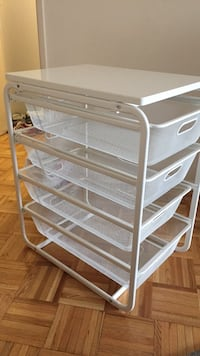 Organizer with 4 drawers 2 months old  Toronto, M4R 2E9