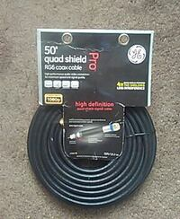 50' quad shield pro RG6 cable Chattanooga, 37403