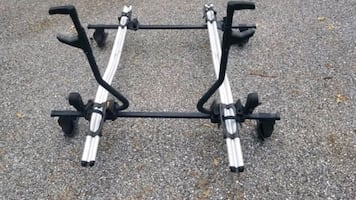 Thule Rooftop Two Bike Carrier, Bike Rack, Roof Rack, Multiple Bike