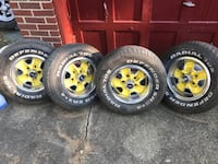 4 rally wheels Youngstown, 44511
