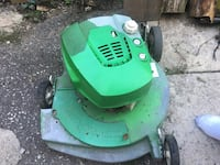 green and black push mower Brampton, L6V 2E5