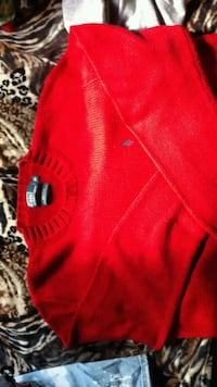 RL POLO XL RED SWEATER