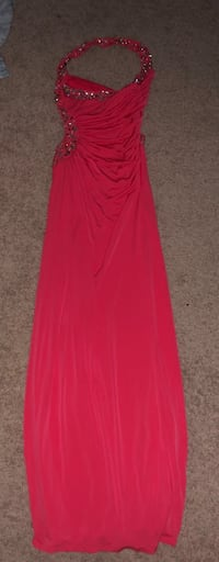 Coral prom/homecoming dress