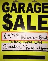 GARAGE SALE - 3.0 Name Brand Household Products & Housewares  Delray Beach, 33484