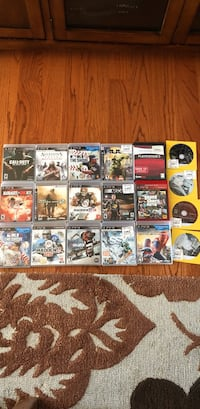 PS3 2 remotes and games