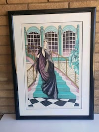Mary Vickers Art Deco Artist Proof Embellished Glendale, 85308