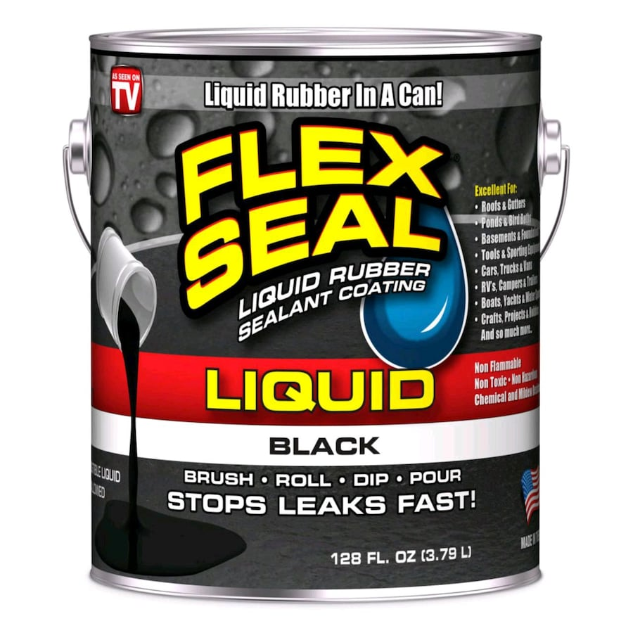 Flex Seal Sealant 1 Gallon Black