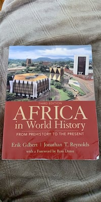 Africa In The World History 3rd Edition for $75 Toronto, M9R 1T1
