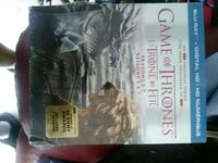 Game of thrones blu ray dvd Surrey, V4N 6E1