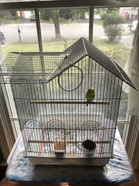 Two bird cages and a healthy bird Reston, 20194