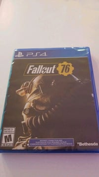 Fallout 76 PS4 Brand New & Sealed Toronto, M6K 0B4