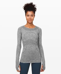 Lululemon Swiftly Tech Long Sleeve Crew Size 6 *new with tag* Coquitlam, V3B 0P3