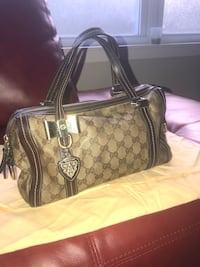 Brown and beige Gucci leather tote bag Washington, 20019