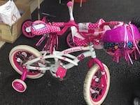 toddler's pink and white bicycle Charles Town, 25414