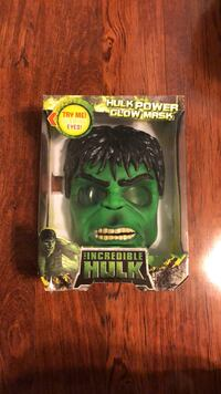 Hulk Power Glow Mask (Never Opened) 239 mi