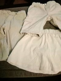 xs girls uniform  beige or tan San Jose, 95110