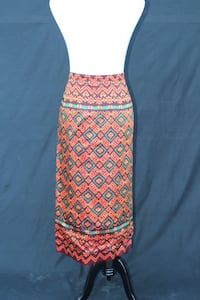 1980s Tribal Design Wrap Skirt Castaic, 91384