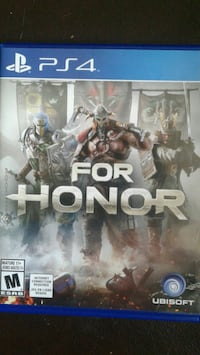 For Honor PS4 game case Woodstock, N4S 3T4