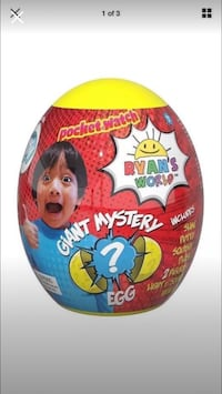 Ryan's World Mistery Egg  Delano, 93215