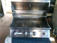 stainless steel and black gas grill Phoenix, 85050