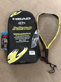 Racquetball Racquet With Accessories