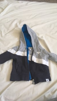 black and blue zip-up jacket Edmonton, T5P 2L7